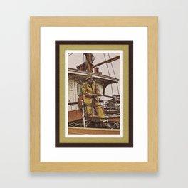 Handling Lines Framed Art Print