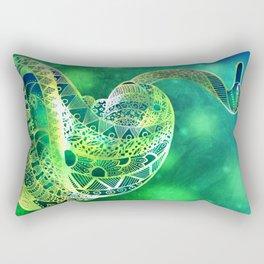 The Emerald Prince Rectangular Pillow