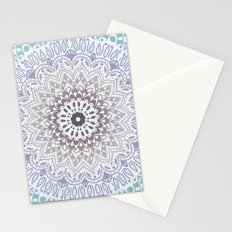 BLUE SUMMER MANDALA Stationery Cards