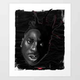 Ol Dirty Bastard Art Print