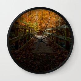 Bridge To Enlightenment Wall Clock