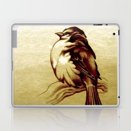 Sparrow in the Cold Laptop & iPad Skin