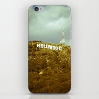 hollywood iPhone & iPod Skins featuring Hollywood by Umbrella Design