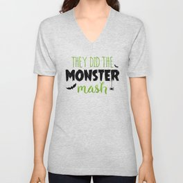 They Did The Monster Mash Unisex V-Neck