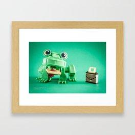 Frogger Framed Art Print