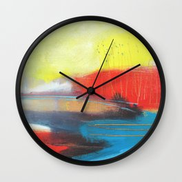 On A Day Like This Wall Clock