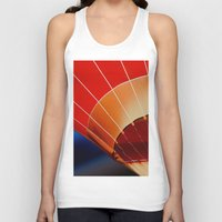 hot air balloon Tank Tops featuring Hot Air Balloon by DistinctyDesign