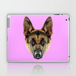 German Shepherd // Lilac Laptop & iPad Skin