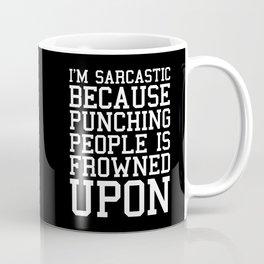 I'm Sarcastic Funny Quote Coffee Mug