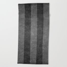 Grey Stripes Beach Towel
