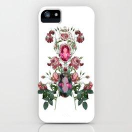 Birth Stone & Flower/JUNE  iPhone Case