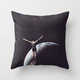 Zero Gravity Throw Pillow