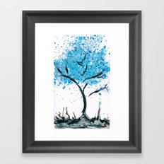We are imperfectly beautiful, and that's ok. Framed Art Print