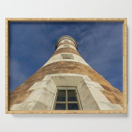 Roker lighthouse 2 Serving Tray