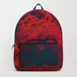 Red Abstract Texture (Color) Backpack