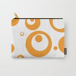 Circles Dots Bubbles :: Marmalade Inverse Carry-All Pouch