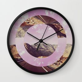 Highway Circle Wall Clock