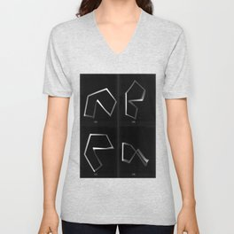 new forms abcd Unisex V-Neck