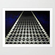Lebowski's Condition Art Print