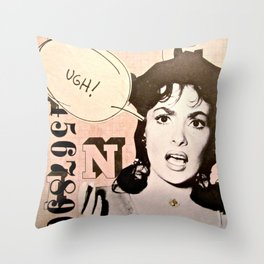 Reaction Throw Pillow