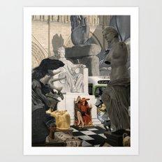 Kleptomaniac Art Print