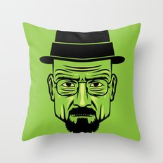 Walter White Portrait.  Throw Pillow
