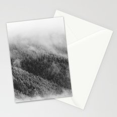 Austrian mountain view Stationery Cards