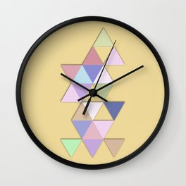 Abstract #809 Passages Wall Clock