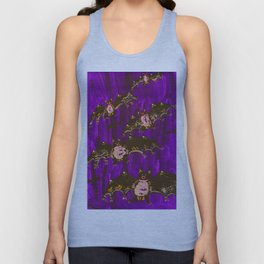 Twilight Bats Unisex Tank Top