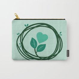 Cute heart in a nest Carry-All Pouch