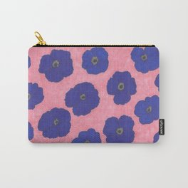 Blooms in Blue Carry-All Pouch