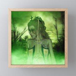 Wonderful fairy Framed Mini Art Print