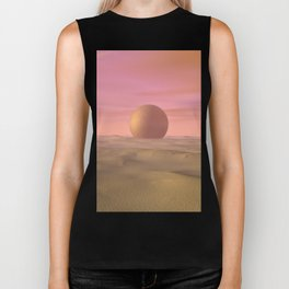 Desert Dream of Geometric Proportions Biker Tank
