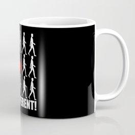 Hardbass - Be Different Gopnik Coffee Mug