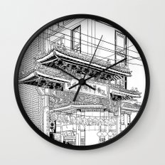Nagasaki - China Town Wall Clock