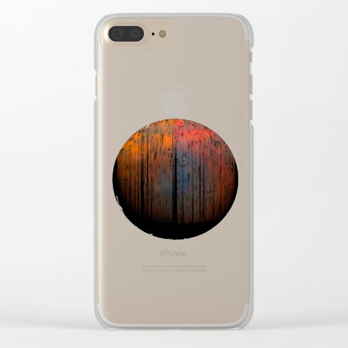 Planetary Moods 3 / 04-09-16 Clear iPhone Case