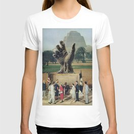 Illuminati Inauguration  - Vintage Collage T-shirt