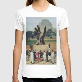 Illuminati Inauguration  - Vintage Collage T-shirt