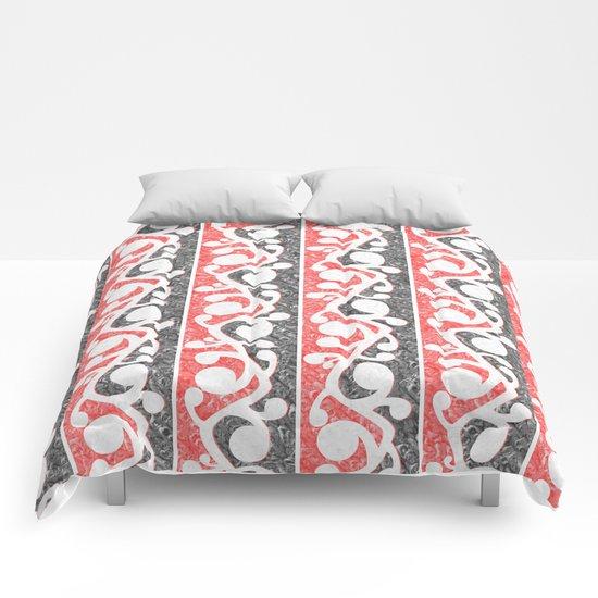 Maori Kowhaiwhai Distressed Pattern Comforters