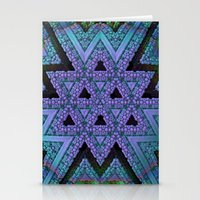 fabric Stationery Cards featuring Fabric by Lyle Hatch