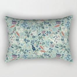 Herb Garden Rectangular Pillow
