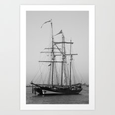 Tall Ships - Greenwich Art Print