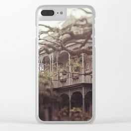 New Orleans Southern Beauty Clear iPhone Case