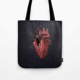 The Heart of a Loner Tote Bag