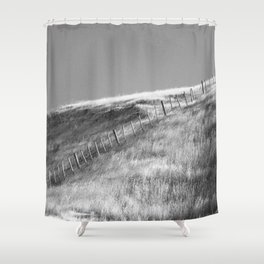 Hawkes Bay Fenceline Shower Curtain