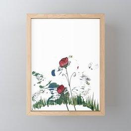 Find Me Framed Mini Art Print