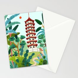 Singapore's Chinese Gardens Stationery Cards