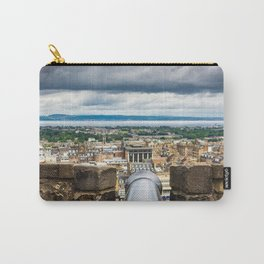View of Edinburgh, Scotland from Edinburgh Castle Carry-All Pouch