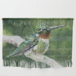 Romeo the Hummingbird by Teresa Thompson Wall Hanging
