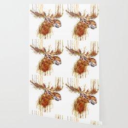 Moose Head Wallpaper